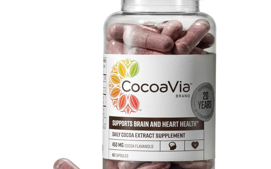 CocoaVia Cocoa Flavanol Capsules Reviews