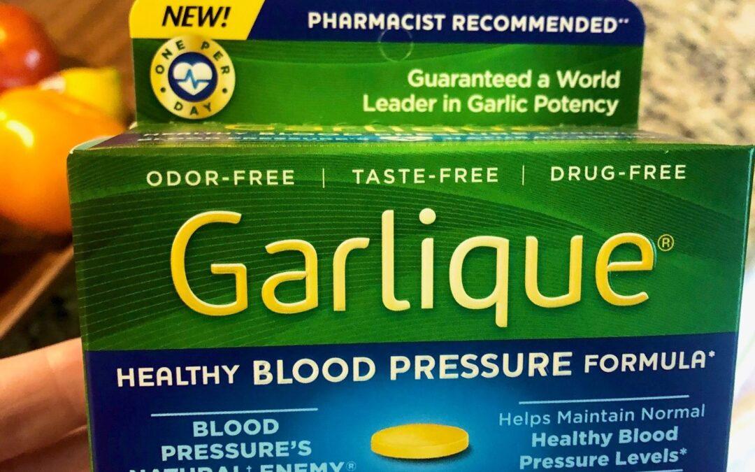 Garlique Healthy Blood Pressure Formula Reviews