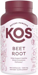 KOS Organic Beet Root Reviews